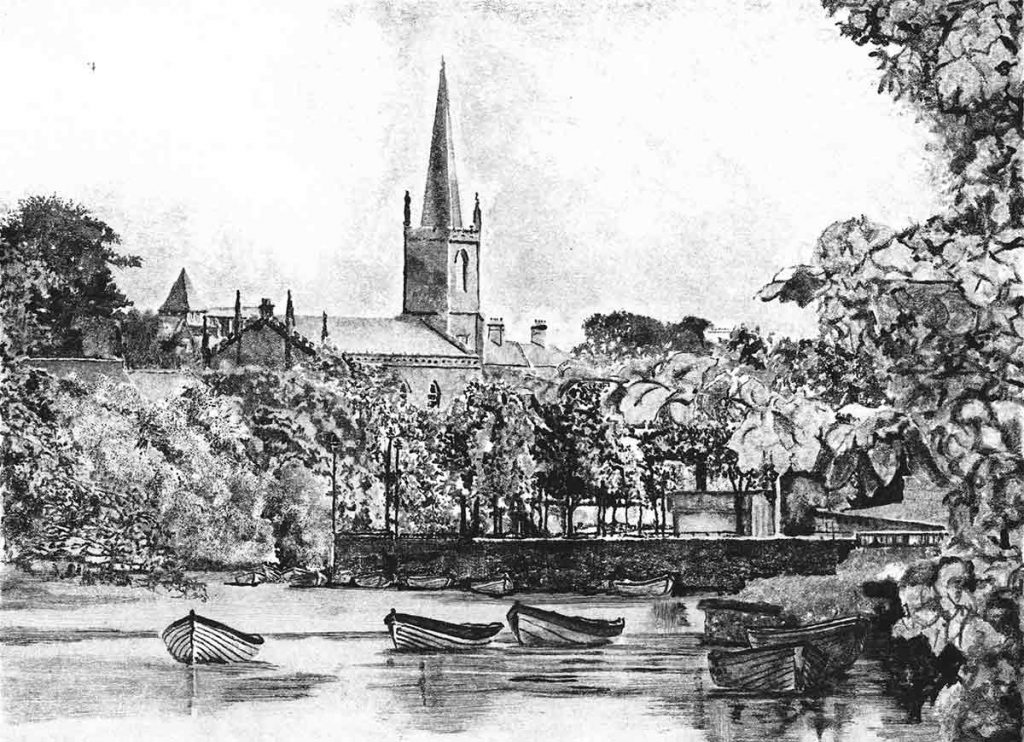 Garavogue River, 2014, monoprint