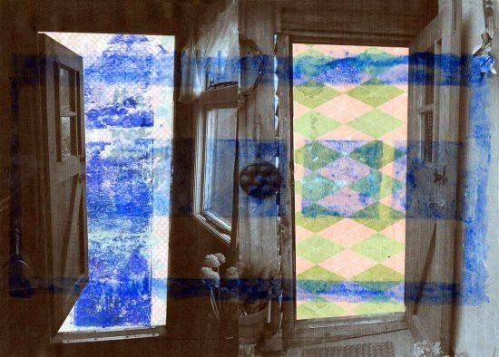 Leave the Door Open, 2016, digital art