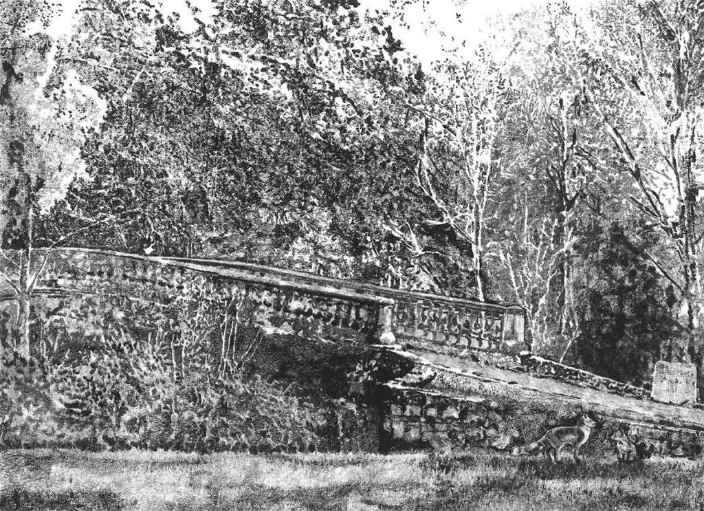 Lough Key Forest Park, 2015, monoprint