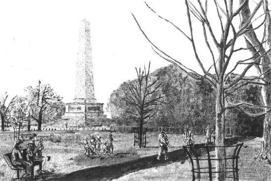 Phoenix Park, 2014, monoprint