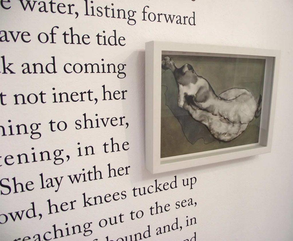 Stranded Flesh, 2013, art display