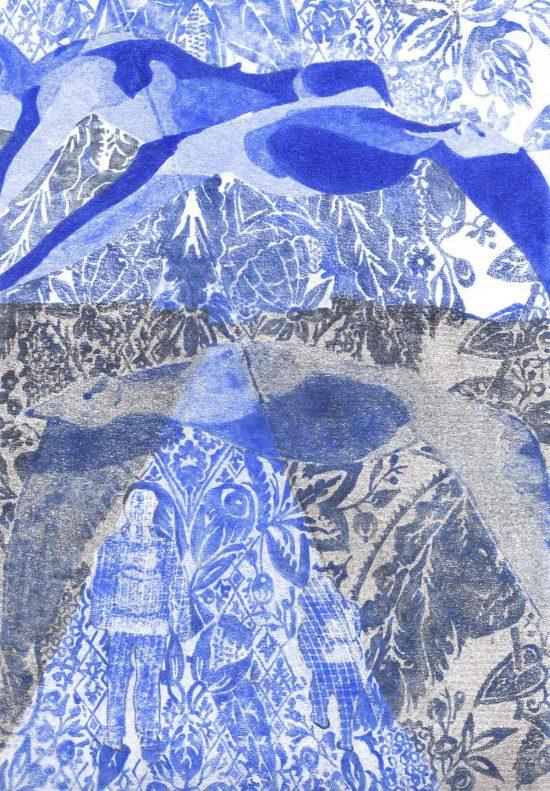 To Didou, 2016, monoprint