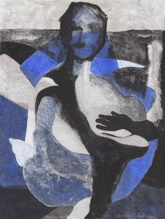 Woman, 2016, monoprint
